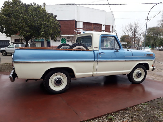 Ford F 100 V8 Punta Diamante.