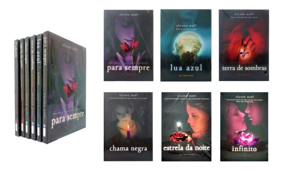 Livro Os Imortais Coleção Completa 6 Vol. Alyson Noel Novo
