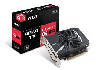 Msi Radeon Rx 560 Aero Itx 4g Oc Gráficos De Mesa Vd6359