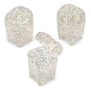 Glitter Tooth Holders 72 Por Paquete