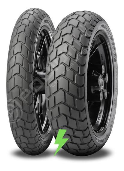 Par Pneus Mt60 Rs 110/80-18 E 160/60-17 Pirelli Café Racer