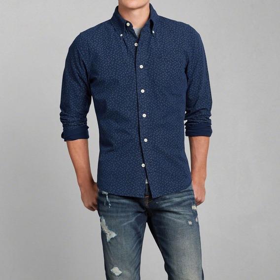 Abercrombie & Fitch Camisa Manga Larga Shirt Importada Usa
