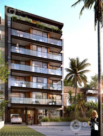 Vendo Apartamento De 1 Dormitorio Con Patio, A Estrenar En 09/2020, Frente A La Rambla De Buceo