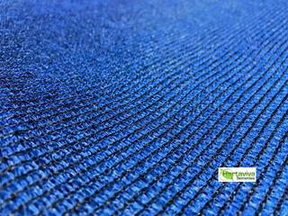 Tela Sombrite Decorativa 80% Azul - 25 Metros X 50 Metros
