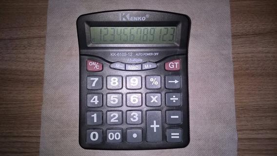 Calculadora Eletronica Kenko Kk 6103-12 12 Digitos