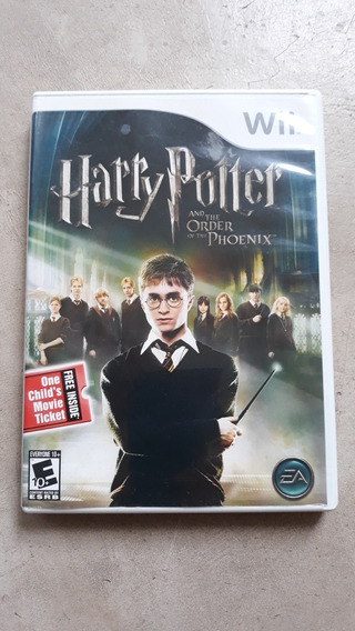 Jogo Wii Harry Potter And The Order Of The Phoenix