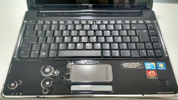 Notebook Hp Dv4 Com Proc I3 3gb 320 Hd Bateria 1;40
