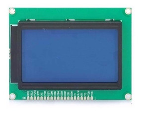 Display Lcd 128x64 Com Backlight Azul