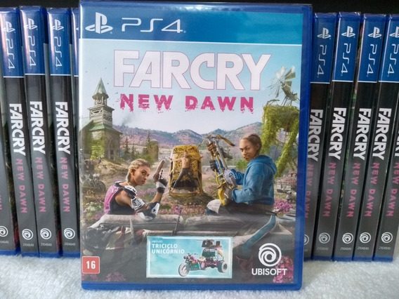 Far Cry New Dawn Ps4 Mídia Física Lacrado