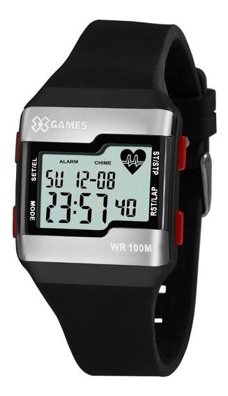 Relógio Pulso X Games Digital Cardiaco - Xgppd144 Bxpx