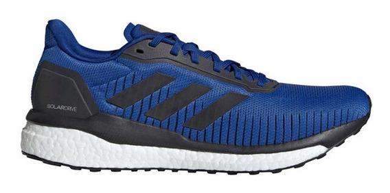 Zapatillas adidas Solar Drive 19 M Azul Hombre Running Boost