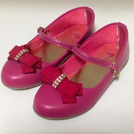 Sapatilha Kids Pink Biri - Tamanho 25