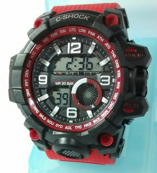 Relógio Digital C-shock Sport Barato Kit C/ 3