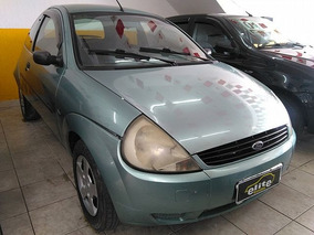 Ford Ka 1.0 8v Rocam Gl Financia Ou Troca - 2002