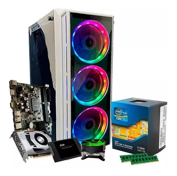 Pc Gamer Intel I7, 8gb Ram, 3tb, Geforce Gtx1060 6gb, Linux
