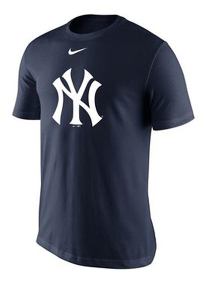 Playera Ny Yankees C/ Logo Nike Todas Las Tallas Y Envio Gts