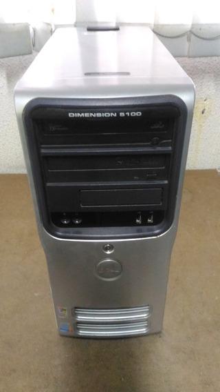 Cpu Dell Modelo Dimension 5100 - Hd 80 Gb - Usado