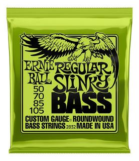 Ernie Ball Cuerdas Bajo Slinky Nickel Wound 50-105