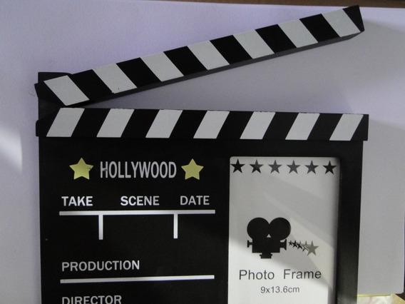 Treis Claquete Tipo Porta Retrato Ator Atriz Personagem Fox
