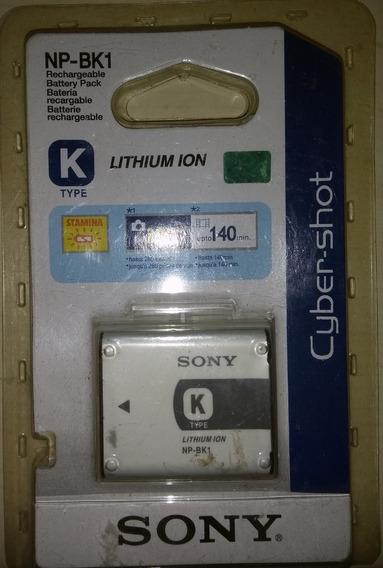 Bateria Original Np-bk1 P/ Sony