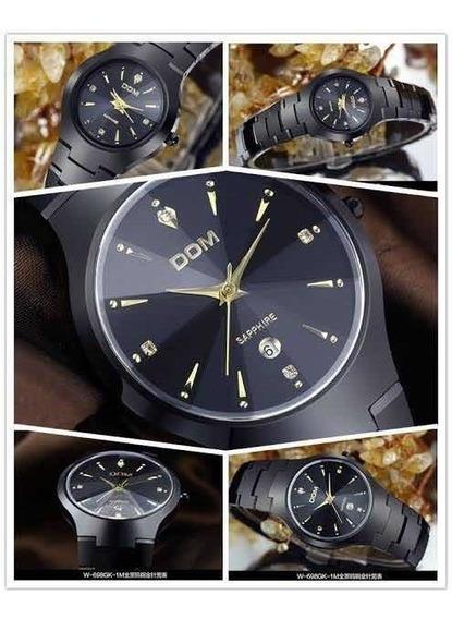 Oferta Promoção - Relógio Dom Sapphire