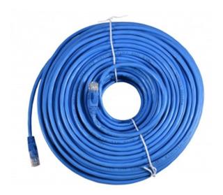 Cable De Red Armado 50m Cat 6 / 50 Metros Categoria 6