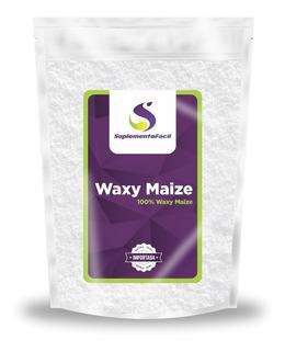 Waxy Maize Puro 1kg 100% Waxy Maize Natural Com Nota Fiscal