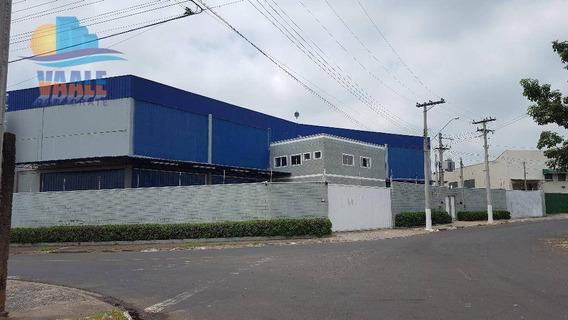 Galpão Industrial Para Locação, Jardim Boa Vista, Hortolândia. - Ga0209