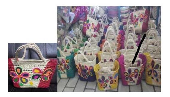 Paquete De 25 Bolsas Artesanales De Dama
