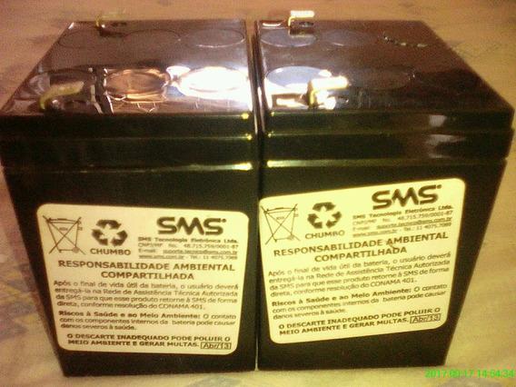 *jl 2 Baterias Usadas Para Nobreak Sms Hr1221 F2 12v Seladas