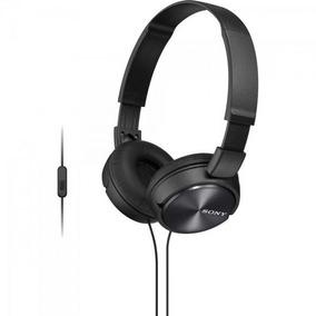 Fone De Ouvido Com Microfone Mdr-zx310ap Preto Sony