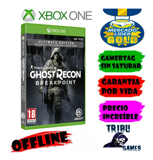 Tom Clancys Ghost Recon Breakpoint Ultimate Xbox One Offlin