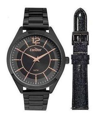Relógio Condor Feminino Troca Pulseira Co2035mux/t4p