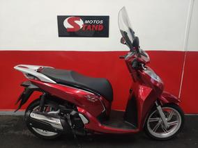 Honda Sh 300 I 300i Abs 2017 Vermelha Vermelho