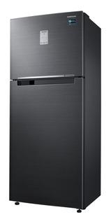 Heladera inverter no frost Samsung RT43K6235BS black inox con freezer 454L 220V