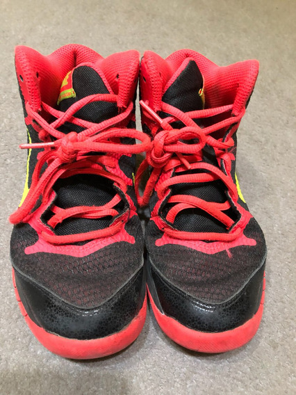 Zapatillas Botitas Niño, Marca Nike, Talle 1,5usa, 32arg