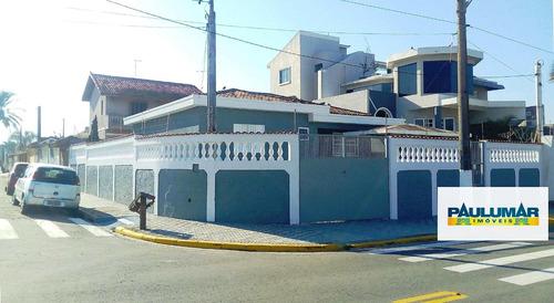 Casa Com 3 Dorms, Agenor De Campos, Mongaguá - R$ 430 Mil, Cod: 24201 - V24201