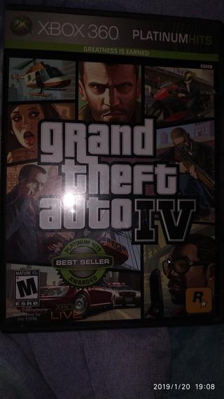 Jogo Gta Iv ( Gta 4 ) - Xbox 360!!! Mídia Física, Original!!