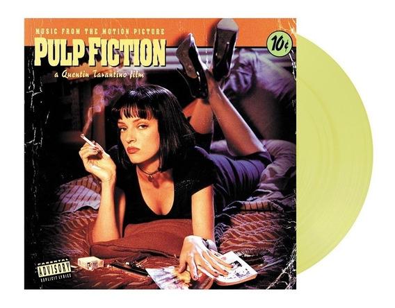 Soundtrack Pulp Fiction Vinilo Lp Color Nuevo En Stock Impor