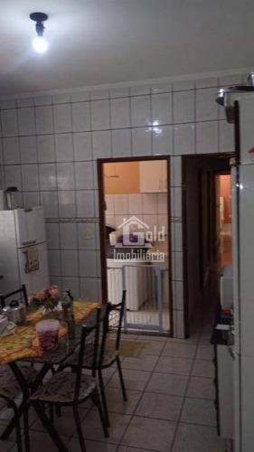 Casa Com 2 Dormitórios À Venda, 125 M² Por R$ 280.000 - Jardim Zara - Ribeirão Preto/sp - Ca1468