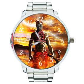 Relógio Xangô Orixá Umbanda Oxê Candomblé Espírita Espiritis