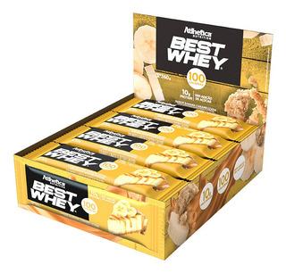 Barra Proteica Best Whey Bar Cx C/12 32g Banana Caramelizada