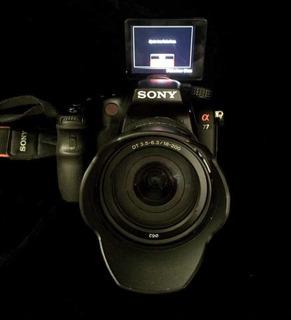 Cámara Sony Alpha77 Con 18-200 F3.5-6.3