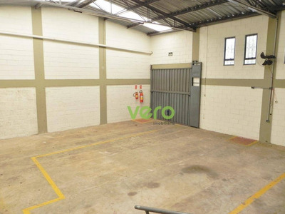Salão Para Alugar, 426 M² Por R$ 3.950/mês - Jardim Ipiranga - Americana/sp - Sl0015