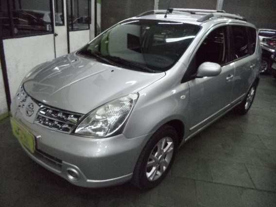 Nissan Grand Livina 1.8 S Flex Aut Completo 7 Lug 2010 Prata
