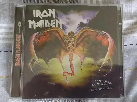 Iron Maiden Live At Donington Emi Enhanced Leia Descrição