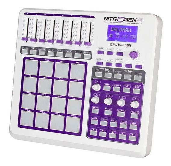 Nitrogen 16 Controlador Dj Usb/midi - Waldman + Nf