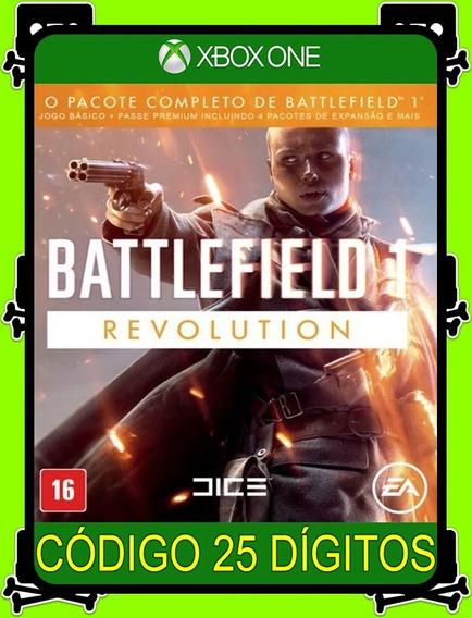 Battlefield 1 Revolution Xbox One - 25 Dígitos (promoção)