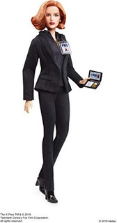 Barbie La Agente De X-files Dana Scully Doll