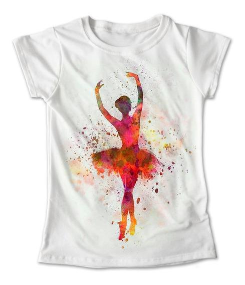 Blusa Danza Colores Playera Estampado Ballet Bailarina 092